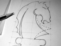 看一個標志的誕生過程(morgan lewis品牌)