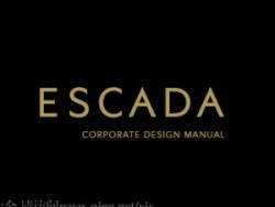 全球顶级时装品牌 ESCADA(爱思卡达)矢量vis