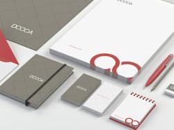 很简洁的一套VI设计欣赏PSD(0007)