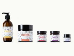 Metta Skincare 纯天然护肤品包装设计欣赏