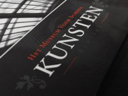 精美国外美术馆(KUNSTEN)折页设计欣赏