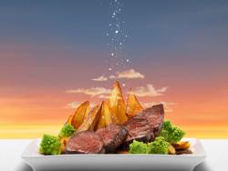 "瑞士著名盐品牌""Sel Des Alpes""创意广告欣赏"