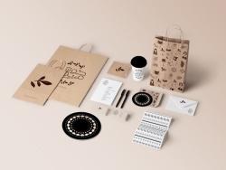 Housh Mariam餐厅品牌视觉形象设计