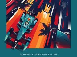 《Formula E Championship Posters》扁平海报