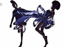 2011年Tina J为法国Elle拍摄的梦幻礼服,看后感觉超爽
