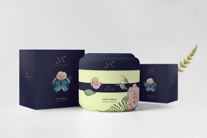 Victoria化妆品包装设计