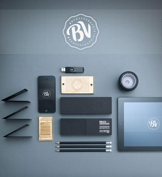 36个国外创意品牌视觉VI设计