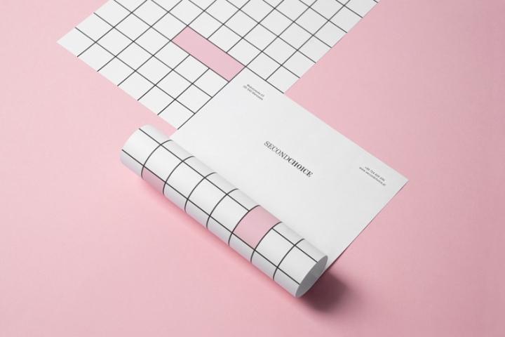华沙奢侈品和二手时装店Second Choice品牌形象设计