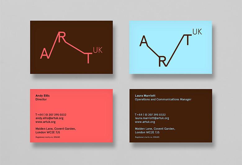 """英国全新的文化项目""""Art UK""""形象标识设计"""