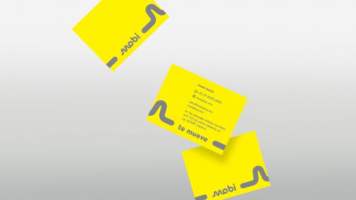 Mobi公共交通系统品牌视觉设计
