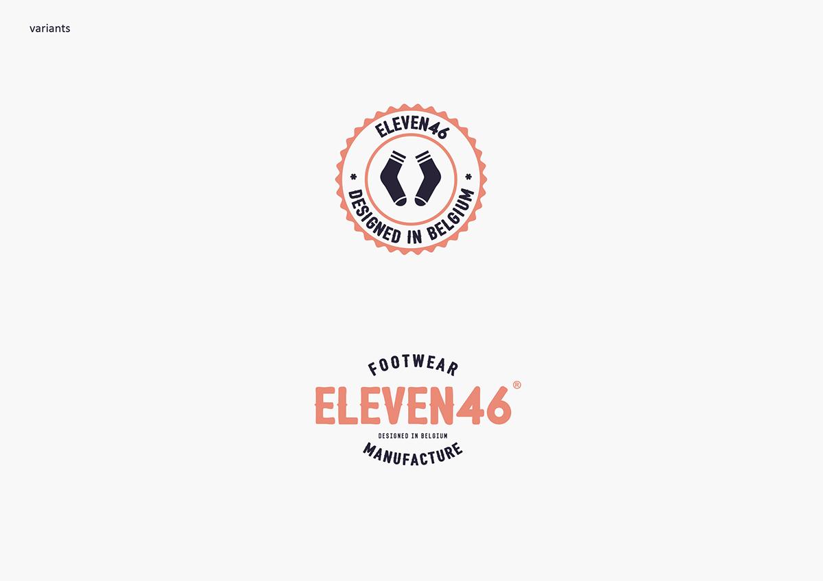 袜子品牌Eleven46视觉形象设计