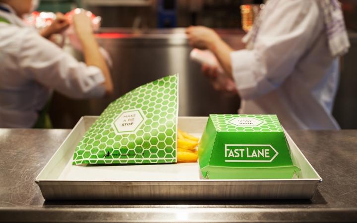 Fast Lane快餐厅品牌形象设计