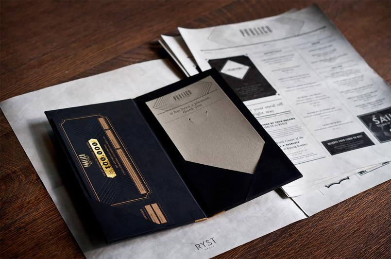 Publico餐厅VI视觉形象设计