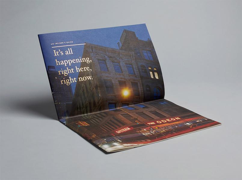 豪华地产项目30 Park Place品牌视觉设计