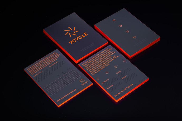 7Cycle健身俱乐部品牌形象设计