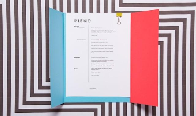 墨西哥Pleno餐厅视觉形象设计欣赏