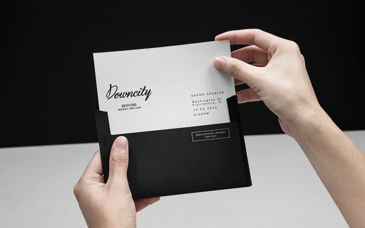 Downcity户外品牌VI设计