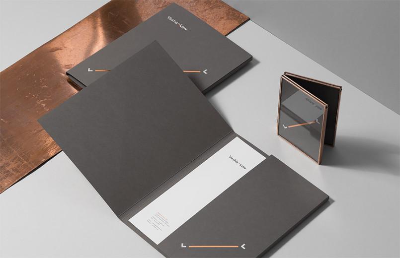 Vesha Law律师事务所品牌形象设计