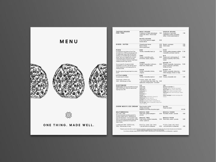 Pizza Workshop餐厅品牌和室内设计欣赏