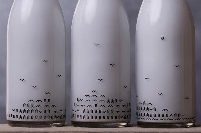 莫斯科MØS北欧餐厅视觉形象设计