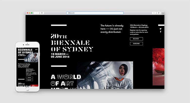 第20届悉尼双年展视觉形象设计