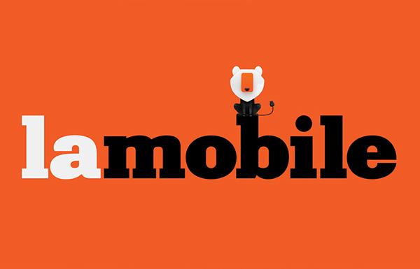 Lamobile品牌VI形象设计