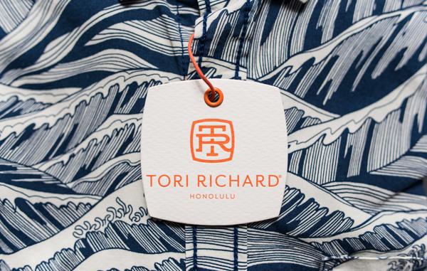 服装品牌Tori Richard新品牌视觉形象欣赏