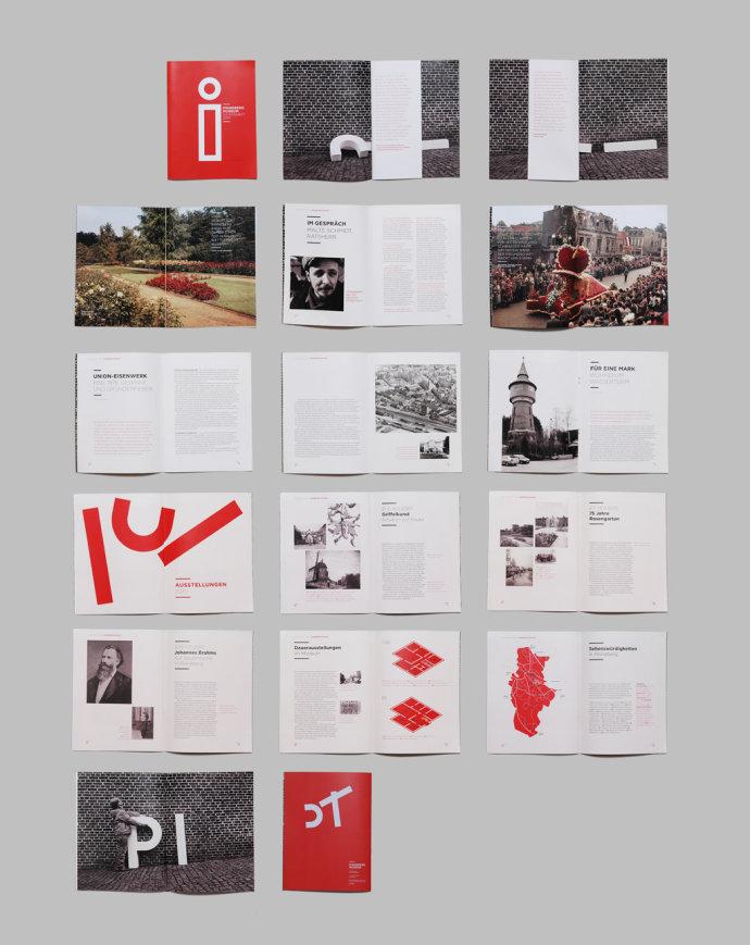 德国Pinneberg博物馆视觉形象设计欣赏
