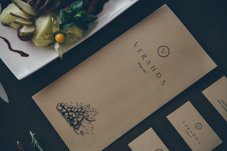 Veranda意大利餐厅视觉形象欣赏