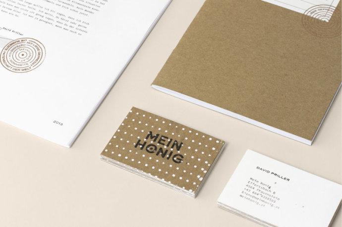 Honigmarke品牌识别设计