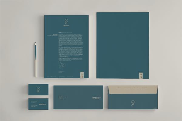 Dennis de Vries极简风格品牌设计欣赏
