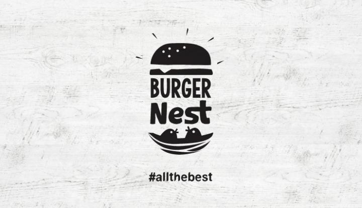 希腊Burger Nest汉堡餐厅品牌设计
