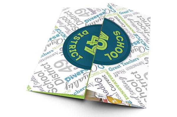 40个国外创意小册子排版设计