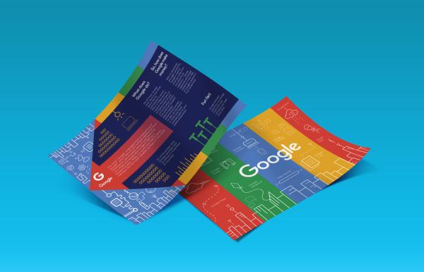 25个扁平化风格画册设计欣赏