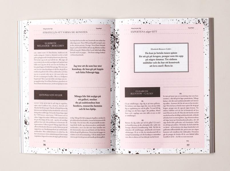 Häng Konsten Lågt书籍装帧设计