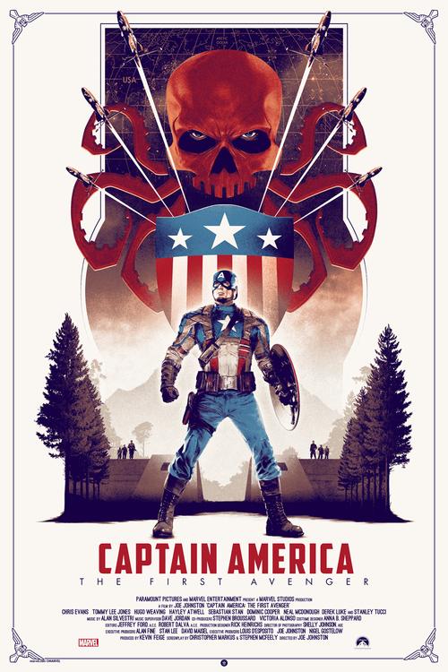 Matt Ferguson插画风格电影海报设计