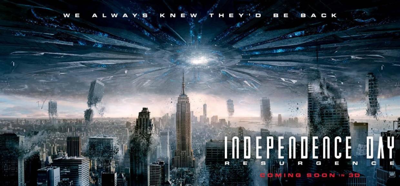 电影海报欣赏:独立日:卷土重来