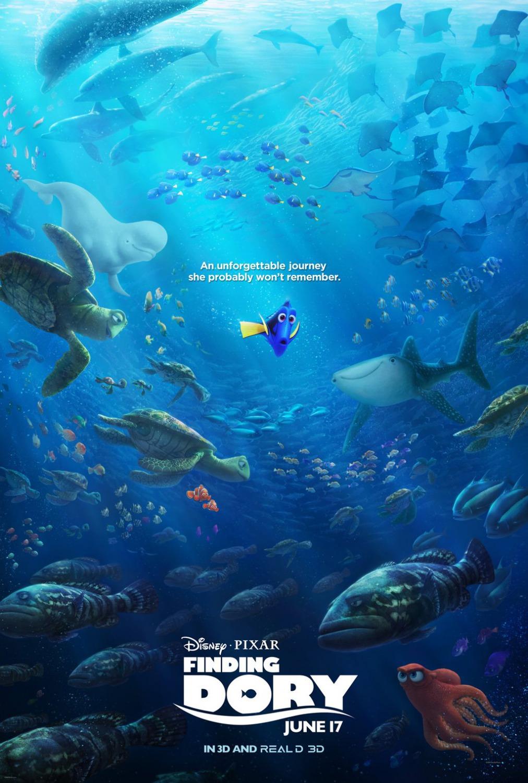 《海底总动员2:寻找多莉》海报设计欣赏
