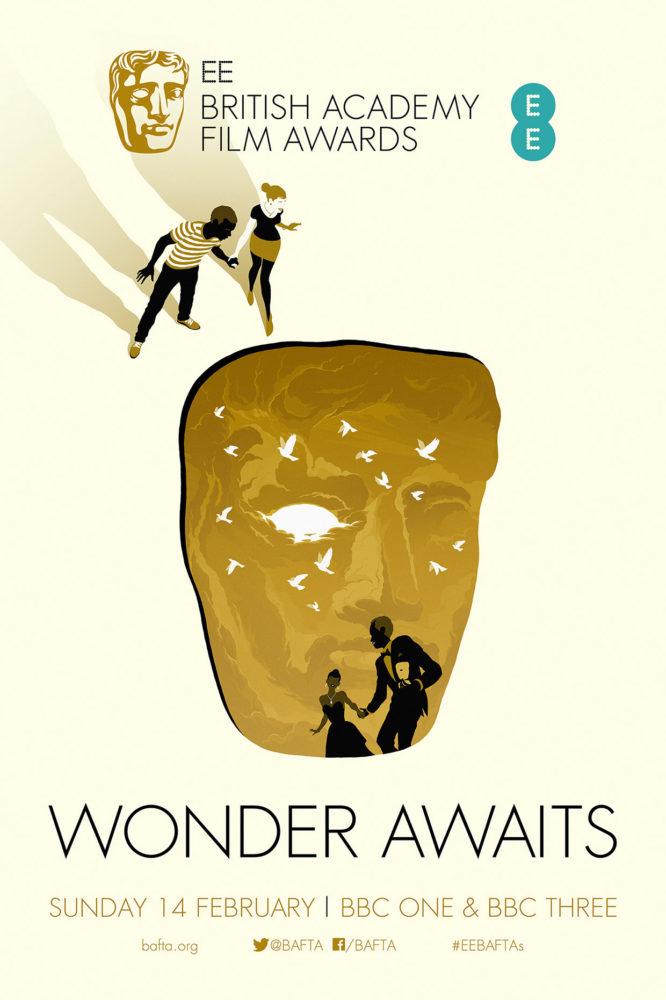 Levente Szabó为2016英国电影学院奖创作的海报