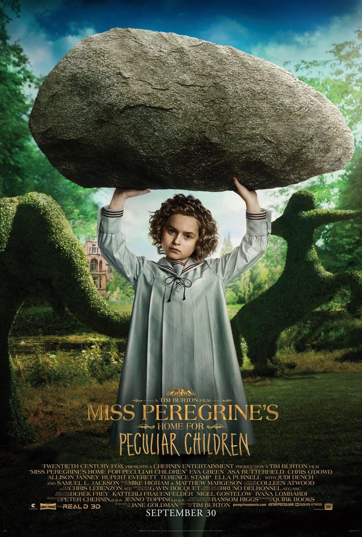 电影海报欣赏:佩小姐的奇幻城堡(Miss Peregrine's Home for Peculiar Children)