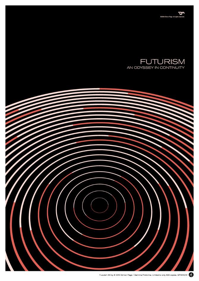 Simon C Page极简和几何风格海报设计