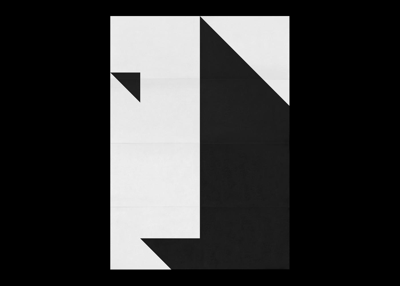 Fabian Fohrer黑白海报设计
