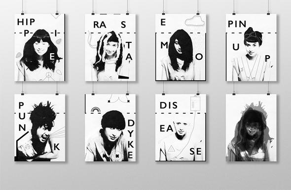 40个国外创意概念海报设计欣赏
