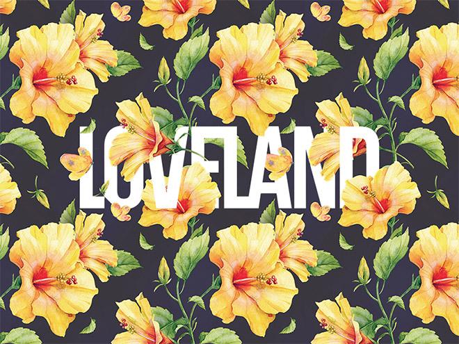 50款漂亮的花卉艺术字体设计