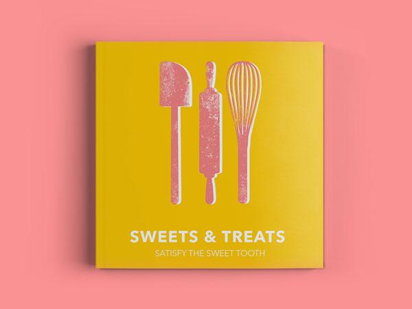 40款国外创意菜谱封面设计
