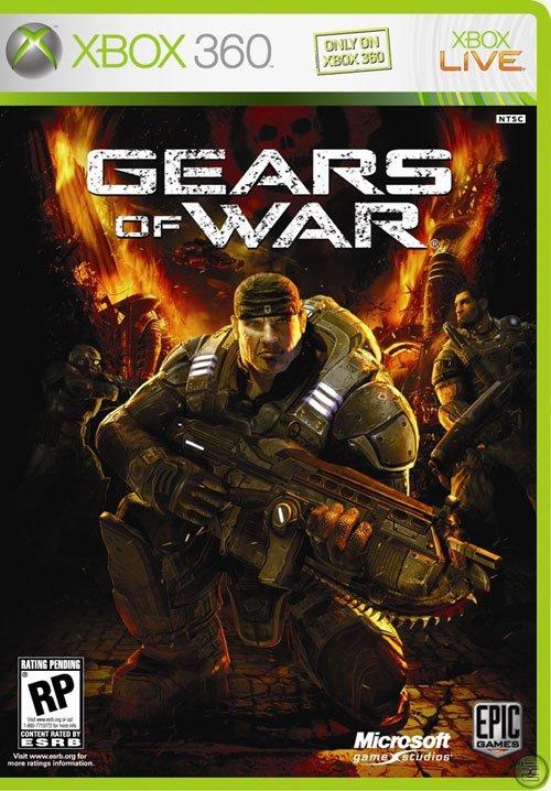 Gears of war游戏封面