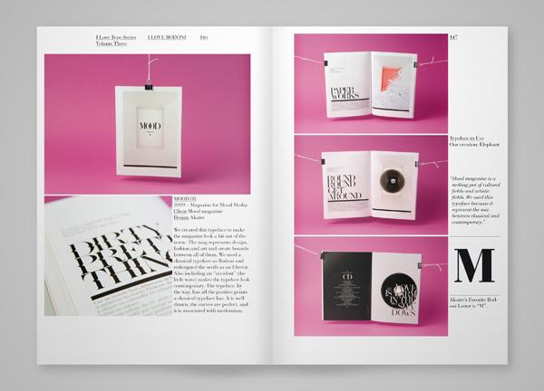 I Love Bodoni杂志版式设计