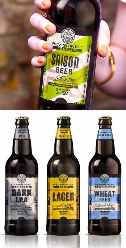 25款国外啤酒包装设计