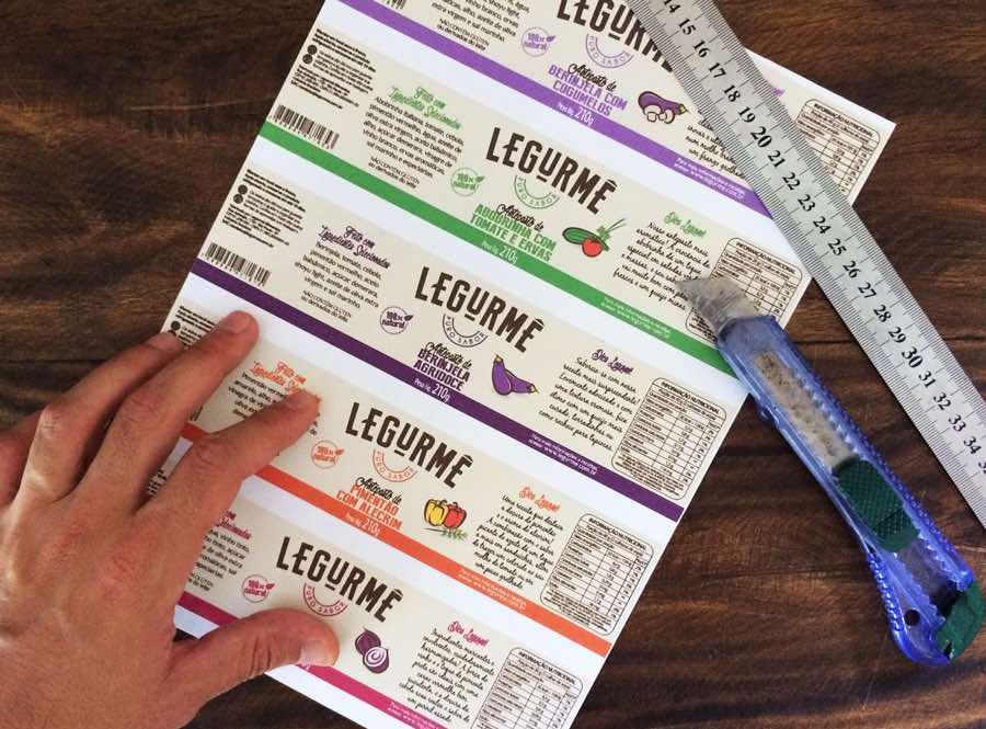 Legurmê蔬菜酱品牌和包装设计