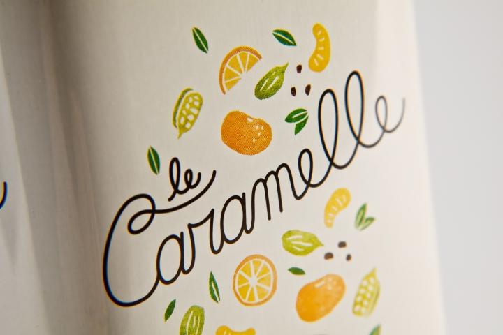 Sabadì — Le Caramelle插画风格糖果包装设计